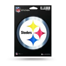 "Pittsburgh Steelers Rico 5"" METALLIC DECAL Die Cut Auto Sticker Emblem Football"