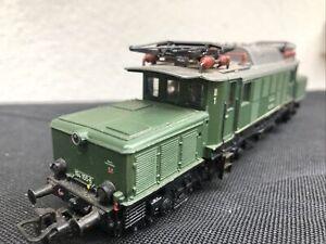 locomotive ho Marklin ( Crocodile ) 194 155 8 en Très bon état ( Peu Roulé)