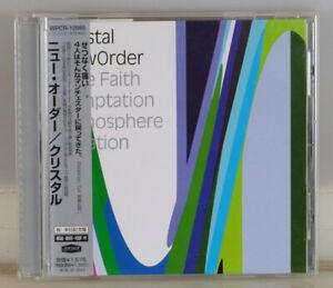 NEW ORDER. CRYSTAL, 5 TRACK LIVE CD SINGLE. JAPAN w/obi WPCR-10985. JOY DIVISION