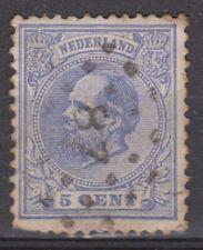 NVPH Netherlands Nederland 19 TOP CANCEL OUDENBOSCH (87) Willem III 1872