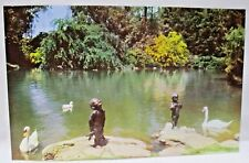 The Frog Baby Forest Lawn Memorial Park Glendale California Postcard #68