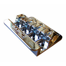 Babicz Full Contact Hardware Replacement 4-String Fender Bass Bridge Chrome