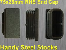 Fence Post Cap Square Tube End Quality Suits 75x25mm Tube RHS Pipe End Cap