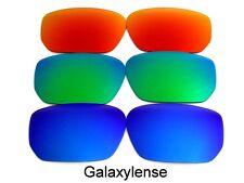 GALAXY Lenti di ricambio per Oakley Style Switch Blu & VERDE & Rosso POLARIZZATI