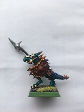 Warhammer Fantasy Lizardmen Temple Guard - Metal - Painted