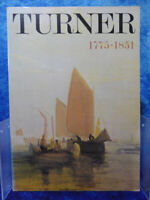 TURNER 1775-1851 Tate Gallery 1974 Exhibition Catalogue Guide PB BOOK Fine Art