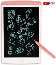 JONZOO LCD Writing Tablet, 10 inch Electronic Doodle Board Kids Drawing Board, D