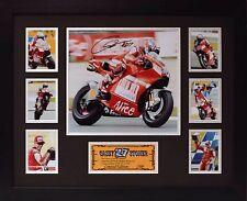 Casey Stoner Limited Edition Framed Signed Memorabilia