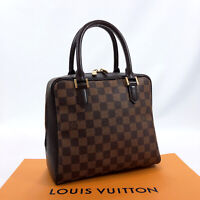 LOUIS VUITTON Handbag N51150 Brera Damier canvas/leather Women