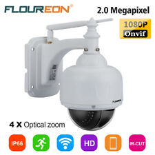 TELECAMERA IP CAMERA HD 1080P WIRELESS 4 X ZOOM IR-CUT DOME PTZ MOTORIZZATA WIFI
