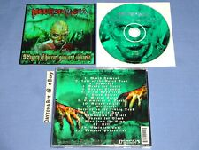 Necrophagia A Legacy of Horror Gore and Sickness 2000 Necropolis Records Deicide