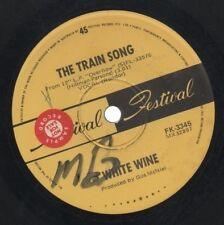 "WHITE WINE   Rare 1969 Aust Promo Only 7"" OOP Psych Pop Single ""The Train Song"""