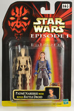 Star Wars Episode I Padme with Bonus Battle Droid Set  Brand New with PROTECH