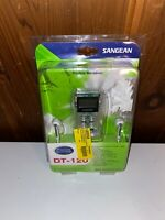 Brand NEW Sangean America DT-120 Pocket AM/FM Digital Radio Clear VTG