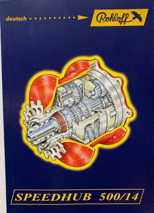 ROHLOFF Handbuch Rohloff Speedhub 500/14 Nr. 8295 Deutsch