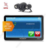 XGODY 5'' PKW GPS Navigationsgerät MIT Rückfahrkamera Funktion Farbdisplay USB