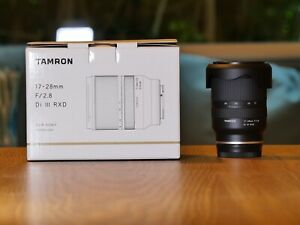Tamron 17-28mm for Sony FE 2.8 - 8 Months Aus Warranty - As New