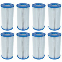 Bestway Swimming Pool Filter Pump Replacement Cartridge Type-III (A) (8 Pack)