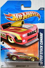 HOT WHEELS 2011 DRAGSTERZ '10 PRO STOCK CAMARO #1/10 RED