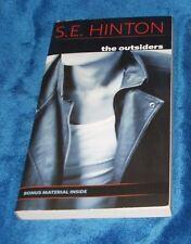 The Outsiders by S.E. Hinton PB w/Bonus Material GOOD