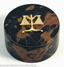 DESK ACCESSORIES -  SCALES OF JUSTICE DESK CADDY - LEGAL PROFESSION - LAWYER