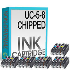 20 CHIPPED Compatible Ink Cartridge for iP3300 iP3500 iX4000 iX5000 Printer