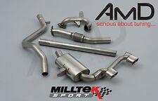 MILLTEK MEGANE 225 completo di scarico con tubi di scolo Decat e Cat Indietro SSXRN404