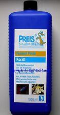 Preis Aquaristik  Formel Preis Korall 1000ml für Meerwasser und Malawi 37,95€/L