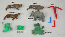 "BONUX -- PRIOR -- MIR -- OMO -- Lot de jouets ""prime"" divers"