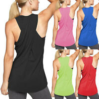 Women's Sleeveless Workout Tops Fitness Sport Yoga Gym Shirts Athletic Tank Tops