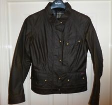 """BNWT SUPER RARE BELSTAFF COLBY FADED OLIVE WAXED JACKET, LADIES size 42 (10) 36"""""""