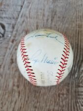 Roger Maris 1963 Yankees Team Signed autographed  Baseball, Yogi, Elston & more