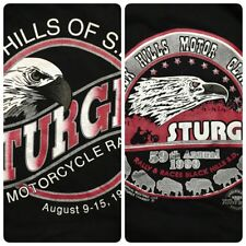 Vtg Sturgis 1999 T Shirt Men's XL 59th Annual Black Hills Of SD Rally And Races