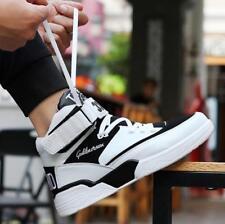 Мужская спортивная обувь с высоким берцем спорт баскетбольная обувь на шнуровке повседневный тренер кроссовок Athletic