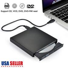External USB 2.0 DVD CD Drive Writer Disc Burner Reader Player f Macbook Air/Pro