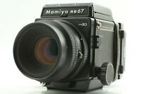 【N MINT】 Mamiya RB67 Pro SD Body + K/L KL 127mm f3.5 L Lens 6x8 Film Back JAPAN