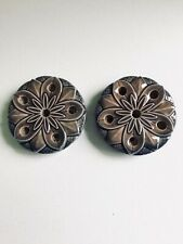 2 beautiful thin candle holders 4 x 1 inch