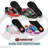 NEW HEELYS MOTION PLUS UNISEX BOYS GIRLS CHILD ROLLER SKATE TRAINERS UK SIZE
