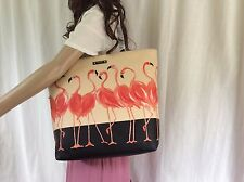 NWT Kate Spade Flamingo Parade Take A Walk On The Wild Side Bon Shopper Bag Tote