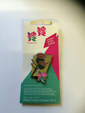 London 2012 Olympics Pin Badge - Emblems of Scotland - Thistle - 0580 - New