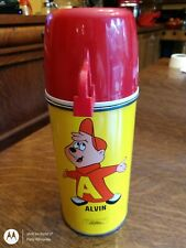 Vintage 1963 Alvin And The Chipmunks Thermos