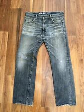 SVG SAVAGE Japanese Selvedge TYPE X05 Black Jeans by NEIGHBORHOOD Vintage 34 28