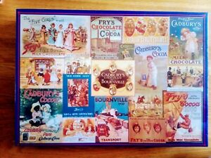 Gibson 1000 piece Jigsaw Puzzle Cadbury Heritage Collection Complete New Sealed