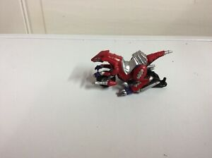 Mighty Morphin Power Rangers Red Motorcycle Toy Bandai 2003 Bvs MMPR toy