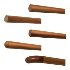 Kambala Iroko Handlauf lackiert Geländer Griff Rohr Holz Treppe Wand Stange rund
