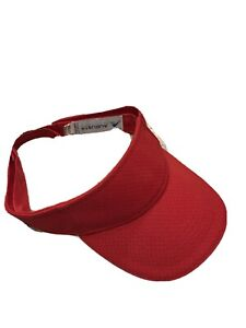 Augusta Sportswear Adult Athletic Mesh 3 Panels Sweatband Folds Visor. 6223