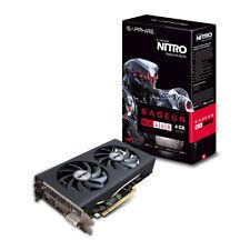 Sapphire RX460 4GB Nitro Radeon Dual-X, 14nm Polaris, PCIe 3.0, 7000MHz GDDR5 OC