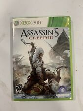 Assassin's Creed III (Microsoft Xbox 360, 2012) Complete Authentic