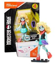 Monster High Mega Construx Lagoona Blue Series 4 Figure 13 Pieces New in Package