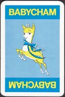 Playing Cards Single Card Old Vintage BABYCHAM Sparkling Perry Wine Advertising